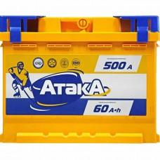 Аккумулятор АТАКА  60 А прям. поляр=