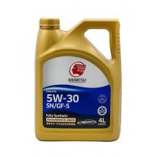 Масло  IDEMITSU 5w30 SN/GF-5 синтетика 4л пластик=