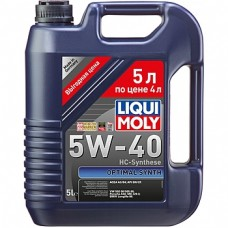 2293 Liqui Moly 5w40 Optimal синтетика 5л (мотор.масло)=