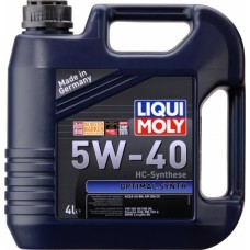 3926 Liqui Moly 5w40 Optimal синтетика 4л (мотор.масло)=