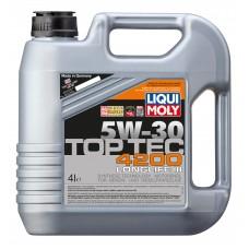 3715 Liqui Moly 5w30 TopTec 4200 синтетика 4л (мотор.масло)=