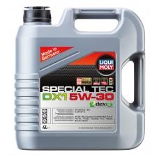 20968 Liqui Moly 5w30 Special Tec DX-1 нс-синтетика 4л (мотор.масло)