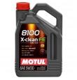 MOTUL 8100 X-Clean  5w30 cинтетика 5л (мотор. масло)=