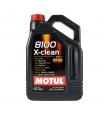 MOTUL 8100 X-Clean  5w40 cинтетика 5л (мотор. масло)=
