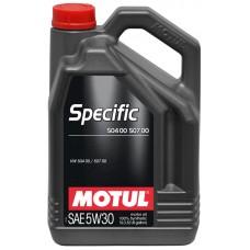 MOTUL Specific VW 50400/50700 5w30 синтетика 5л (мот. масло)=
