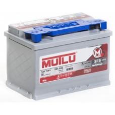 Аккумулятор MUTLU Silver серый 75 А прям. поляр=
