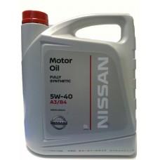 NISSAN  5w40 SN Full Synthetic 5л нов. кан. (мотор.масло)=