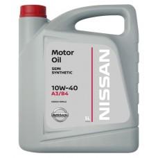 NISSAN 10w40 SL, A3/B4 Semi Synthetic 5л нов. кан. (мотор. масло)=