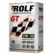 ROLF  GT 5w30 SN/CF синтетика 4л (мотор.масло)=
