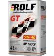 ROLF  GT 5w40 SN/CF синтетика 4л (мотор.масло)=