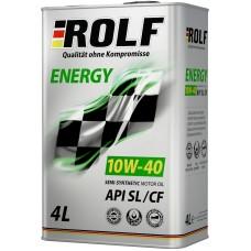 ROLF Energy 10w40 SL/CF полусинтетика 4л (мотор.масло)=