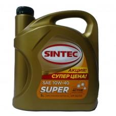 SINTEC Супер 10w40 SG/CD полусинтетика 5л (мотор.масло)=