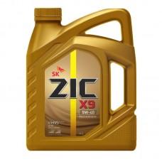 Масло  ZIC  X9 5w40  А3/В4 синтетика 4л=
