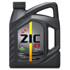 Масло ZIC X7 10w40 DIESEL CI-4 синтетика 4л=
