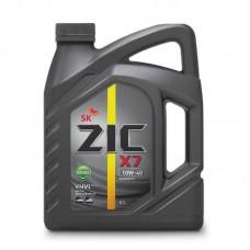 Масло ZIC X7 10w40 DIESEL CI-4 синтетика 6л=
