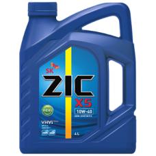 Масло ZIC X5 10w40 DIESEL полусинтетика 4л=