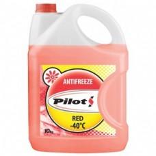 Антифриз PILOTS Red Line -40* красный 10кг=