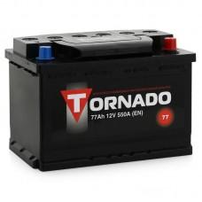 Аккумулятор TORNADO 77 А прям поляр=