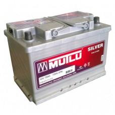 Аккумулятор MUTLU Silver серый 75 А обрат. поляр=