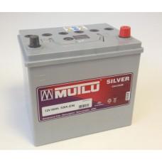 Аккумулятор MUTLU Silver серый 60 А обрат. поляр=