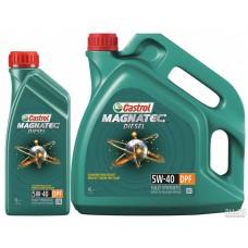 Castrol  Magnatec В4 DPF Diesel 5w40 синтетика 4л+1л АКЦИЯ (мот.масло)=