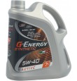G-ENERGY  Synthetic Active  5w40 A3/B4 синтетика 4л (масло мотор)=