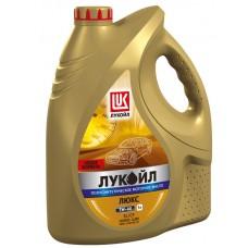 Лукойл Люкс  5w40 SL/CF полусинтетика 5л АКЦИЯ (мотор.масло)=