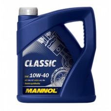 MANNOL Classic 10w40 полусинтетика  5л. (мотор. масло)=