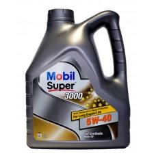 Mobil Супер 3000 5w40 4л синтетика (мотор.масло)=