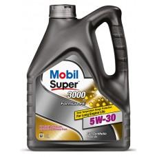 Mobil Super 3000 FE 5w30 А5/В5 синтетика 4л (мотор.масло)=