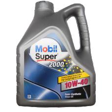 Mobil Супер 2000 10w40 4л полусинтетика (мотор.масло)=