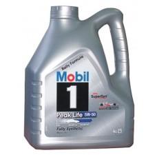 Mobil 1 Peak Life 5w50 4л синтетика (мотор.масло)=