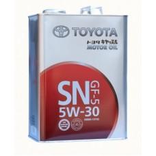 TOYOTA Motor Oil SN/ GF-5  5w30 4л (мотор. масло)=
