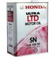 HONDA ULTRA LTD SN 5w30 4л (мотор. масло)=