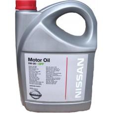 NISSAN  5w30 DPF SM/CF  5л (мотор.масло)=