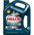 Shell  Helix HX7 10w40  полусинтетика 4л. (мотор.масло)=