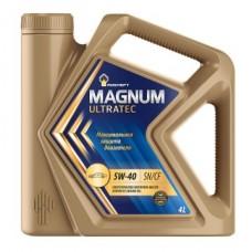 Rosneft Magnum Ultratec 5w40 SN/CF синтетика 4л (мотор.масло)=